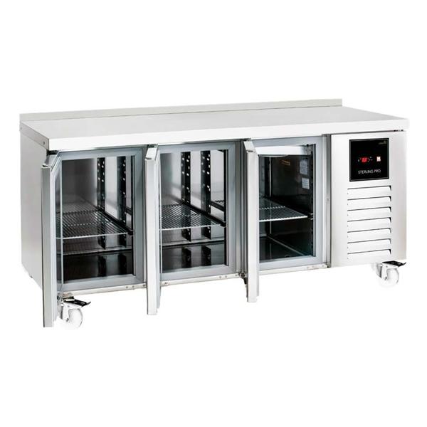 Commercial 3 Door Freezer Counters