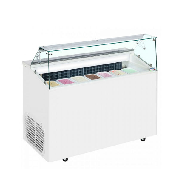Commercial Ice Cream Display Freezers