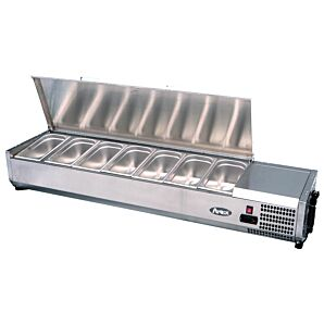 Atosa VRX1200/380S Countertop Topping Unit 4 x 1/3GN