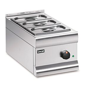 Lincat BM3A Silverlink 600 Electronic Counter-Top Dry Heat Bain Marie 0.5kW
