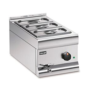 Lincat BM3AW Silverlink 600 Electric Counter-Top Wet Heat Bain Marie 1kW