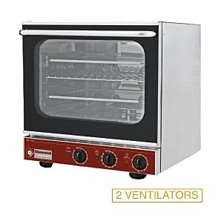 Diamond BRIO43S/X-P Electric Convection Oven + Salamander