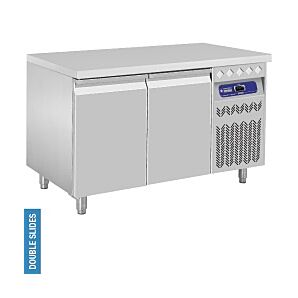 Diamond DT131/R2 2 Door Refrigerated Counter 260 Litres