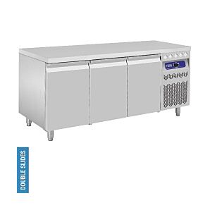 Diamond DT178/R2 3 Door Refrigerated Counter 405 Litres