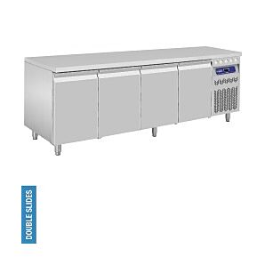Diamond DT224/R2 4 Door Refrigerated Counter 550 Litres