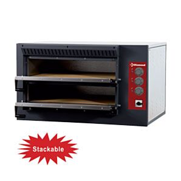 Diamond E3F/24R Electric Pizza Oven Twin Deck