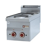 Diamond E60/2P3T Counter-Top Two Ring Electric Range