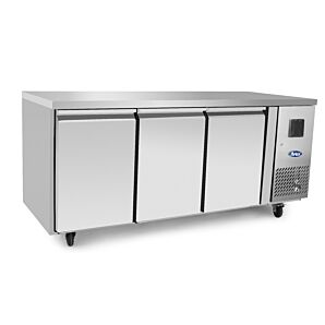 Atosa EPF3472HD Three Door Table Freezer 334ltrs