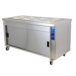 Moffat HB6E Stainless Steel Eco Hot Cupboard With Bain Marie, 6 x 1/1GN