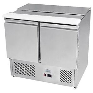 Ice-A-Cool ICE3800GR 2 Door Refrigerated Saladette Prep Counter, 300ltrs