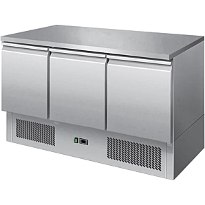 Ice-A-Cool ICE3851GR 3 Door Undercounter Refrigerator, 380ltrs