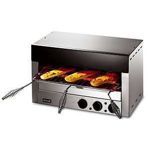Lincat LSC Lynx 400 Superchef Electric Counter-Top Infra-Red Grill w/ Rod Shelf & Spillage Pan
