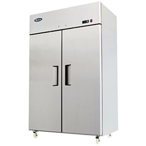 Atosa MBF8117HD Top Mounted Upright Double Door 2/1 Gastronorm Refrigerator 1300 Litres