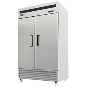 Atosa MBF8187HD Bottom Mounted Upright Double Door Refrigerator 1300 Litres