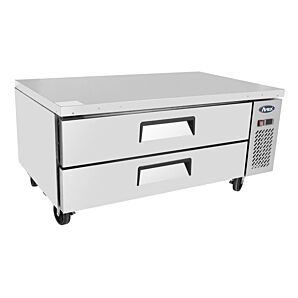 Atosa MGF8450GR Refrigerated 2 Drawer Chef Base 215 Litres, 2 x 2/1GN & 6 X 1/6GN