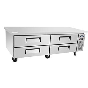 Atosa MGF8453GR Refrigerated 4 Drawer Chef Base 340 Litres, 4 x 2/1GN