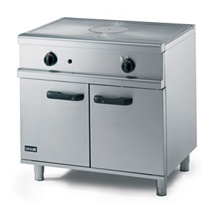 Lincat OG8005 Opus 800 Gas Free-Standing Solid Top Oven Range Centre View