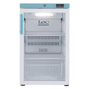 LEC Medical PEGR107UK Pharmacy Undercounter Display Refrigerator 107 Litres