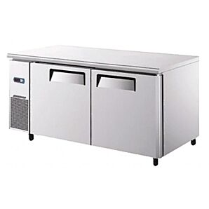 Atosa YPF9027GR Two Door Undercounter Freezer 270ltrs