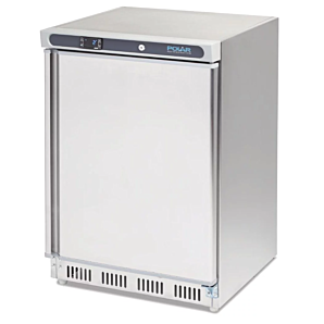 Polar CD081 Undercounter Stainless Steel Freezer 140ltrs