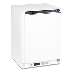 Polar CD611 Undercounter White Freezer 140ltrs
