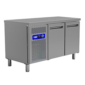 Diamond MR2/TP 2 Door Refrigerated Counter GN 1/1 260 Litre