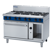 Blue Seal G508D 8 Burner Gas Range Static Oven