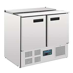 Polar G606 Refrigerated Saladette Counter 240ltrs
