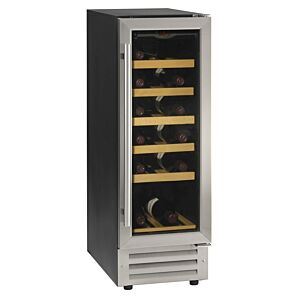 Tefcold TFW80S Black-SS Wine Cooler