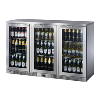 IMC Mistral M135 Triple Door Bottle Cooler