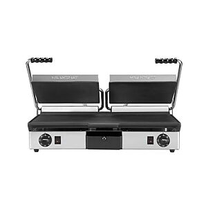 Maestrowave MEMT16053XNS Double Flat Contact Panini Grill