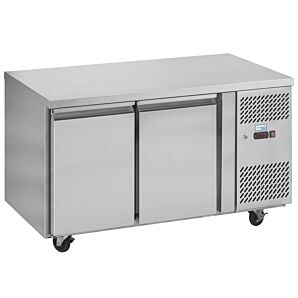 Interlevin PH20F Stainless Steel Double Door Gastronorm Counter Freezer 280ltrs