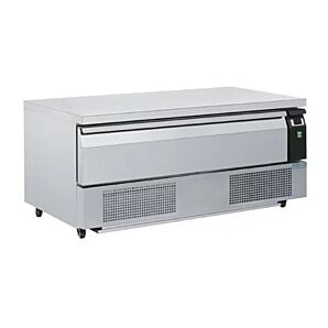 Polar DA995 Single Drawer Counter Fridge/Freezer 3 x GN