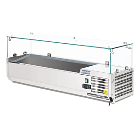 Polar G608 Refrigerated Prep Fridge, 5 x 1/4GN
