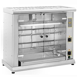 Roller Grill RBE80Q Chicken Rotisserie Display