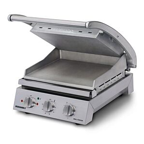 Roband GSA610S 6 Slice Grill Station with Smooth Top Plate