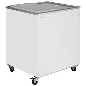 Tefcold IC200SD White Solid Lid Chest Freezer