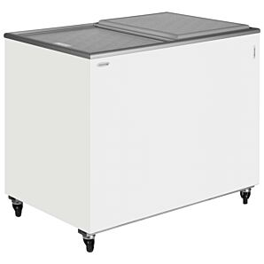 Tefcold IC300SD White Solid Lid Chest Freezer
