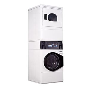 Ipso ILC98 9.5kg Electric Washer/Dryer Stack Combo