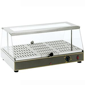 Roller Grill WD100 Single Level Counter Top Heated Display