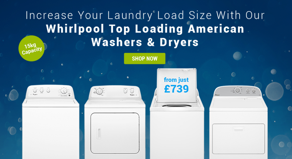Whirlpool Top Loaders