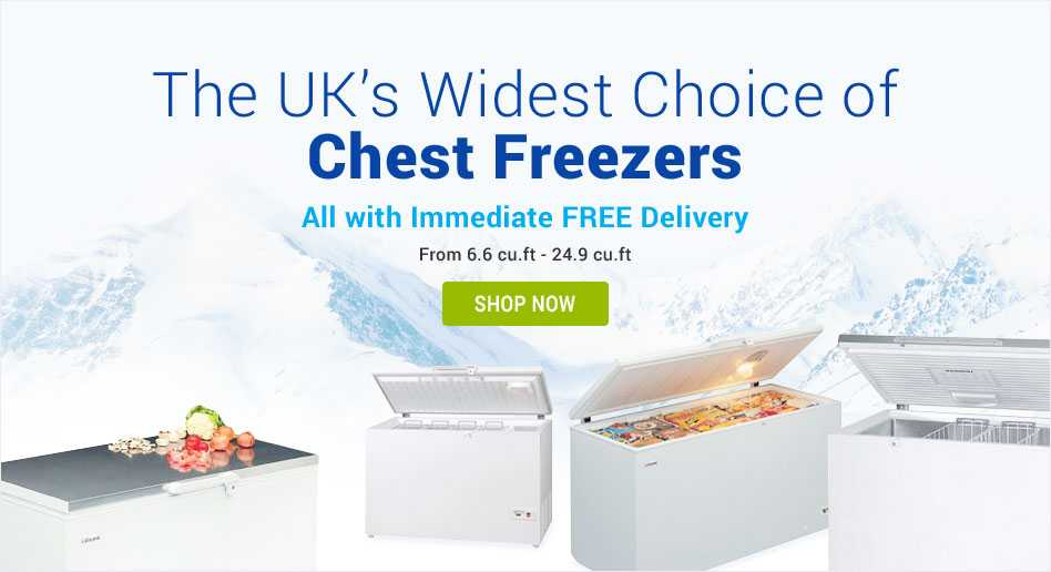 Chest freezer category page